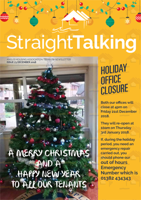 Straightalking December 2018- Issue 73